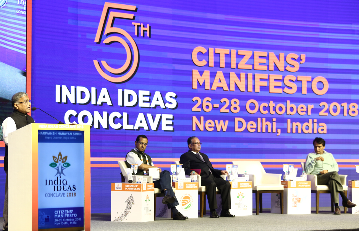 India Ideas Conclave 2018 – Citizens' Manifesto: Churn of Ideas
