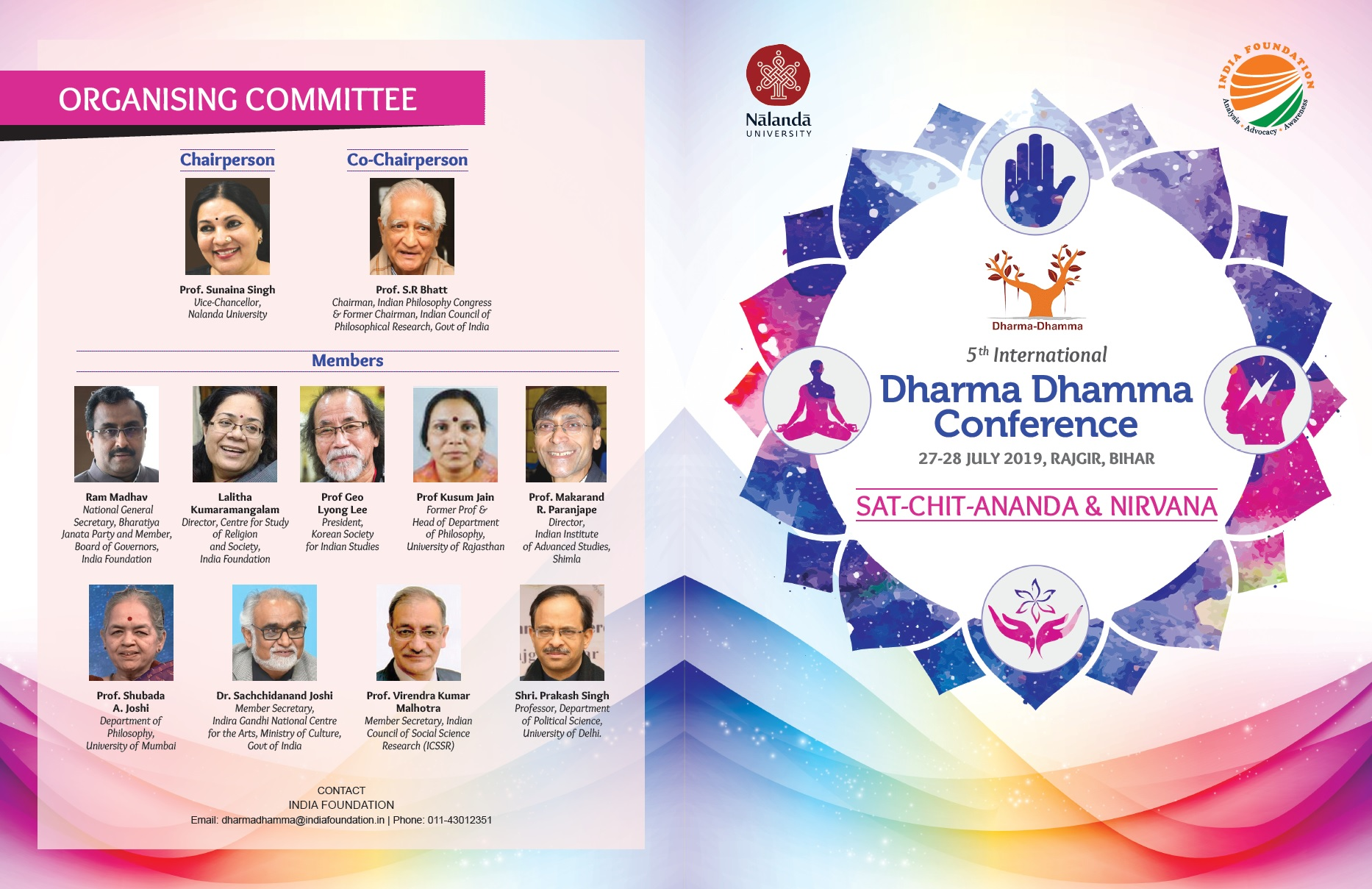 Call for Papers: 5th International  Dharma Dhamma Conference